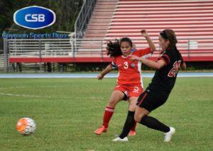Brianna Poy Fon (3) will captain the Cayman side.