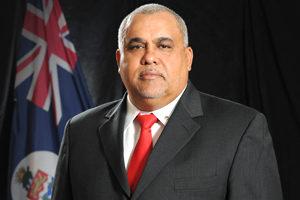 Sports Minister Osbourne Bodden (file).