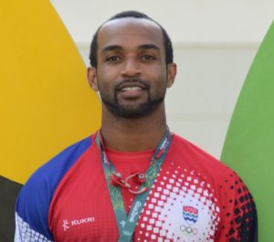 Forbes, 31, is representing the Cayman Islands at the Olympics for a third time.