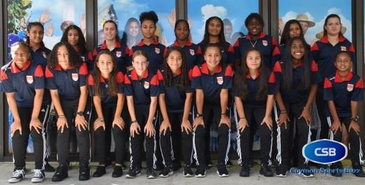 The Cayman Islands U15 Girl's team left for Orlando on 9 Aug.
