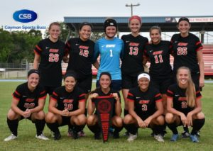 The Ohio Wesleyan University team is training in Cayman for a week.