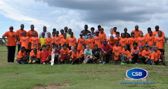 More than 50 youngsters showed up for a week of fun at Smith Road Oval.