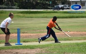 Khalil Meade was rewarded for being one of the top cricketers at the camp.