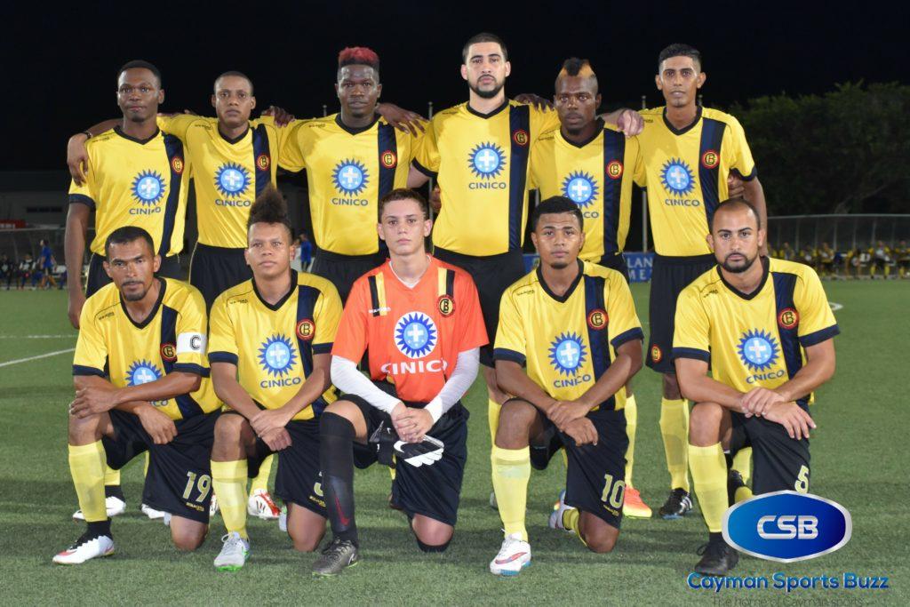 Cayman Brac FC starters
