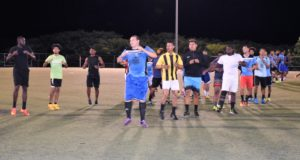 Elite's players were also training at the Ed Bush Sports Complex.