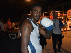 Ebanks will be back in the ring on 22 Oct.