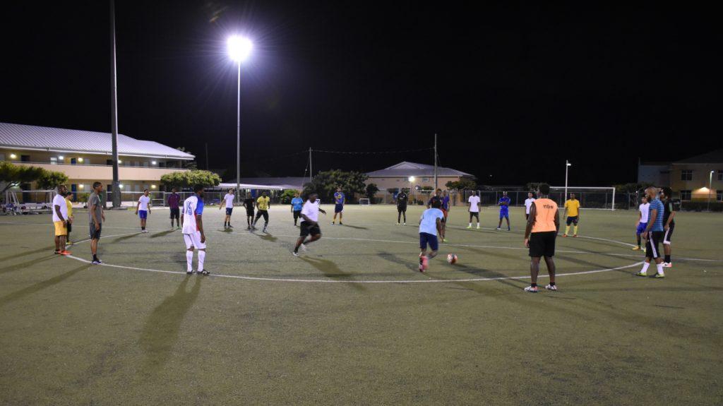 CASC players train ahead of the season.