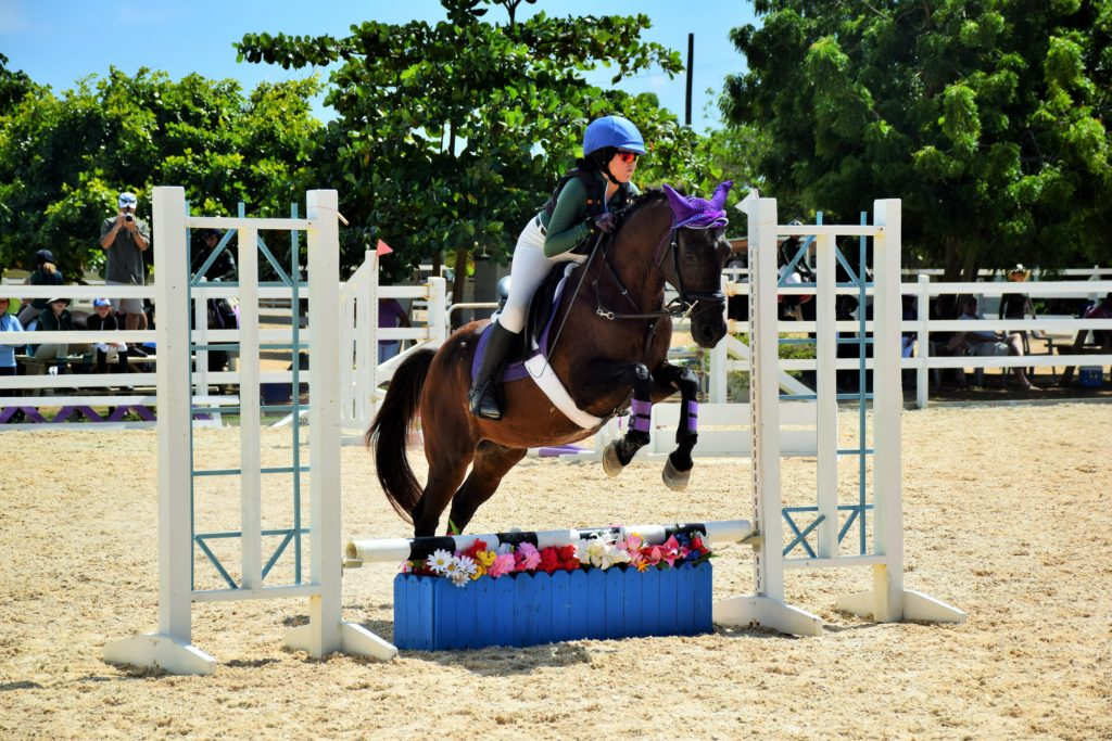 Best Presented Horse and Rider – Kyra Slattery riding Beanie
