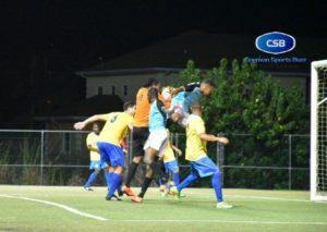 Brown (orange) was under attack all night.