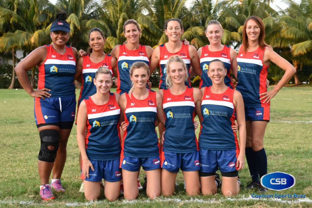 Cayman Islands Touch Rugby Women.
