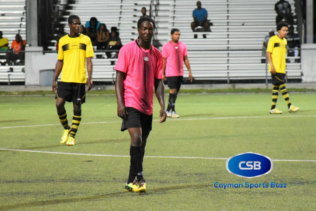 Guiton King started his season with a hat-trick for North Side.
