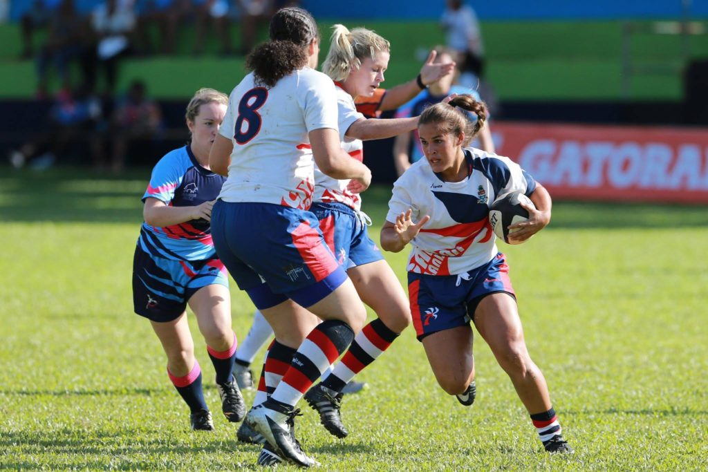 Cayman beat Bermuda twice at the tournament. (Credit: Ashley Allen Photography)