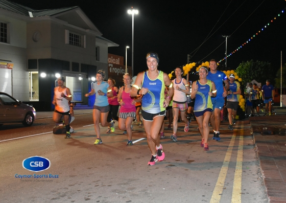 Cayman Islands Run in the Dark gets going.