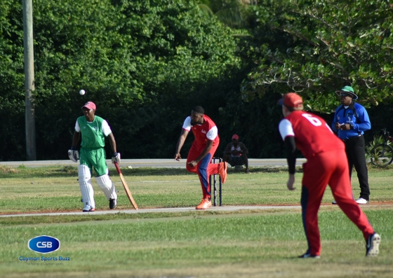 Cayman's bowlers were on the mark.