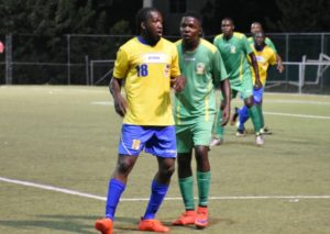 Dickens (18) scored the only goal for Scholars -- FILE PHOTO