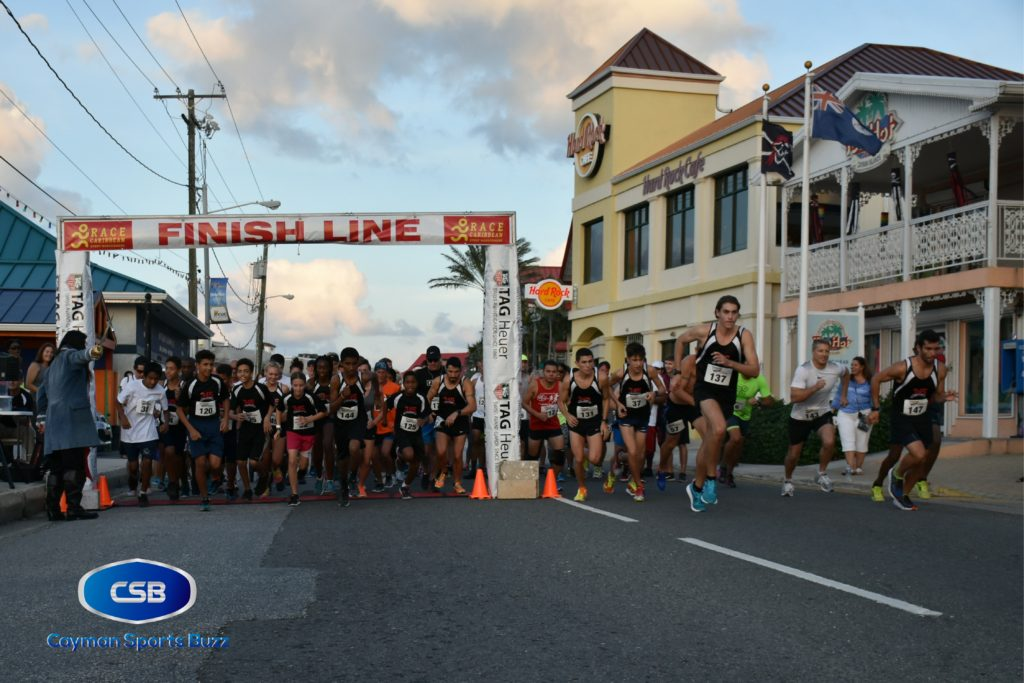 More than 80 runners lined up for the event.