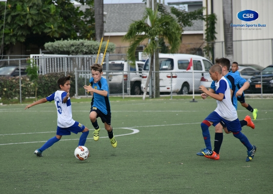 Cayman Prep got over Cayman International School in the U11 Champions Cup.