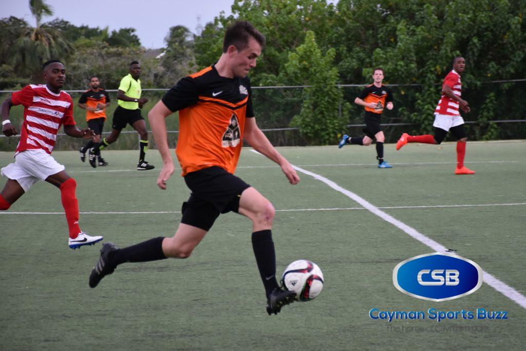 Sunset FC's Tom Chipcase (file photo)