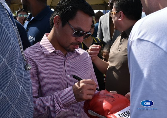 Pacquiao helps break ground on new BT boxing gym – Cayman Sports Buzz