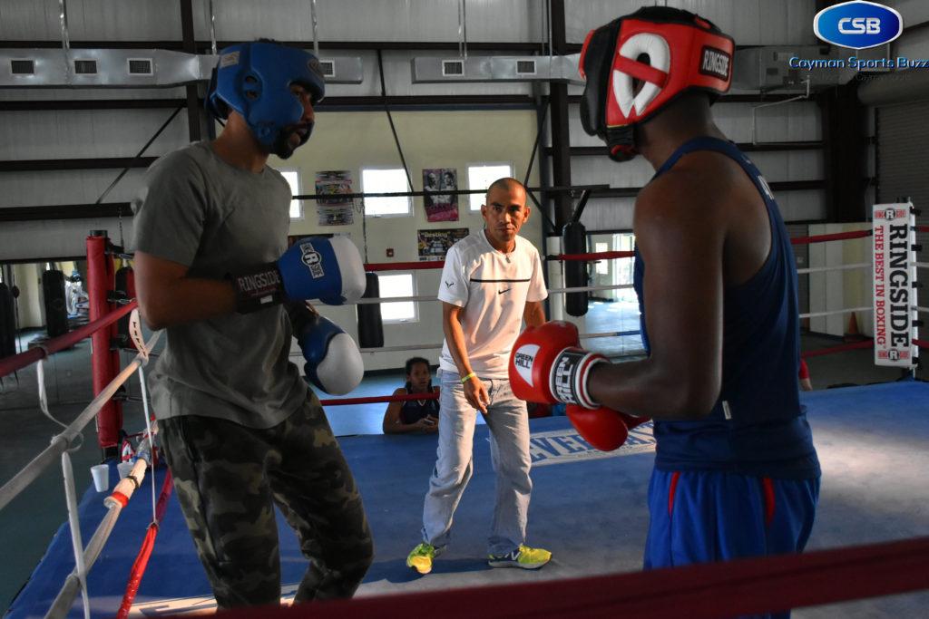 Cesar Aparil R&J training