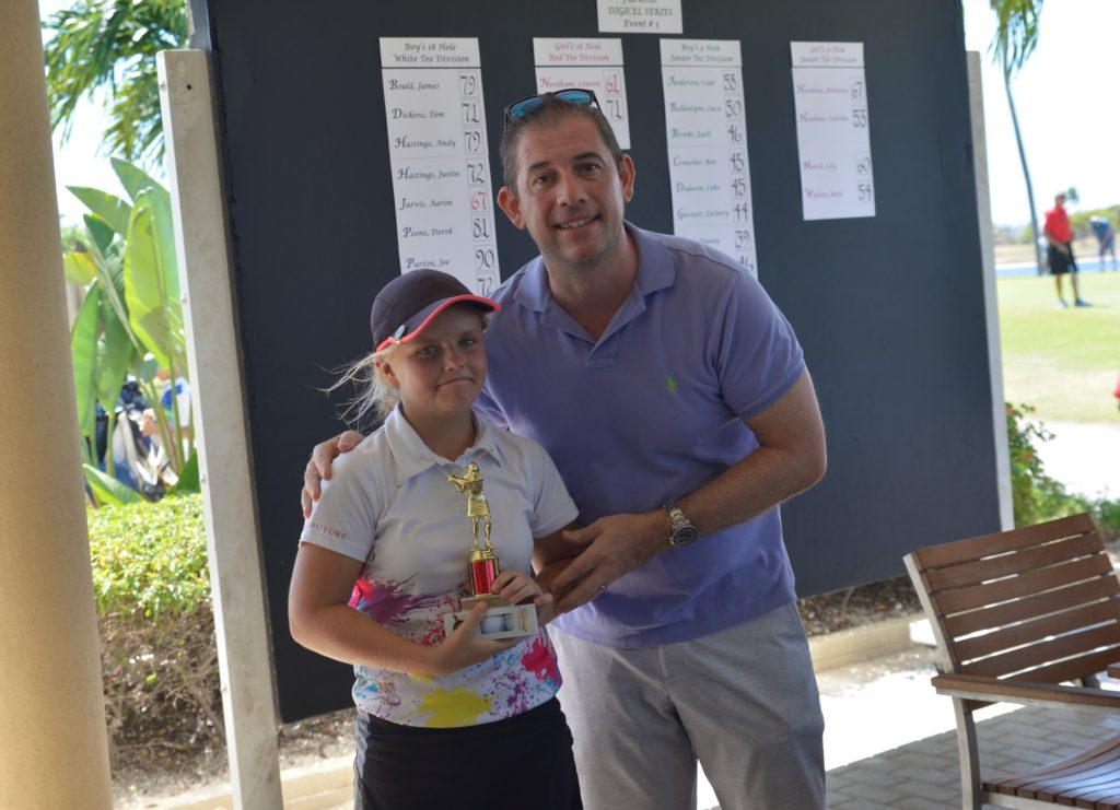 Lauren Needham – Digicel Jr Golf Series