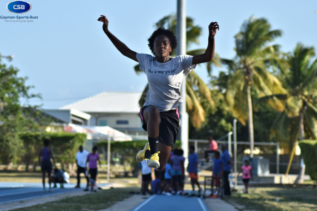 Ashantae Graham long jump