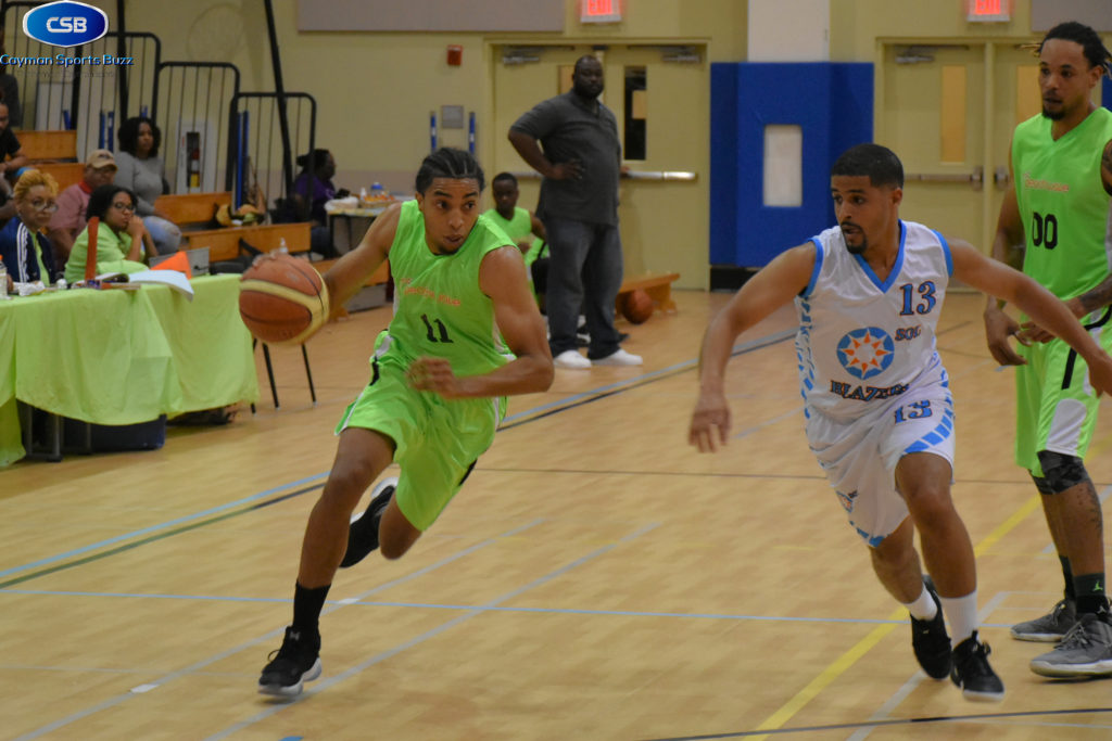 Bullets vs Blazer – Cotterell drive to the hoop