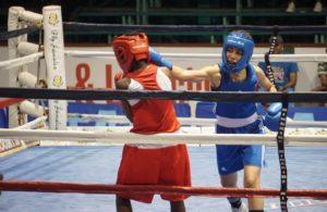 Cayman Islands boxer Brandy Barnes