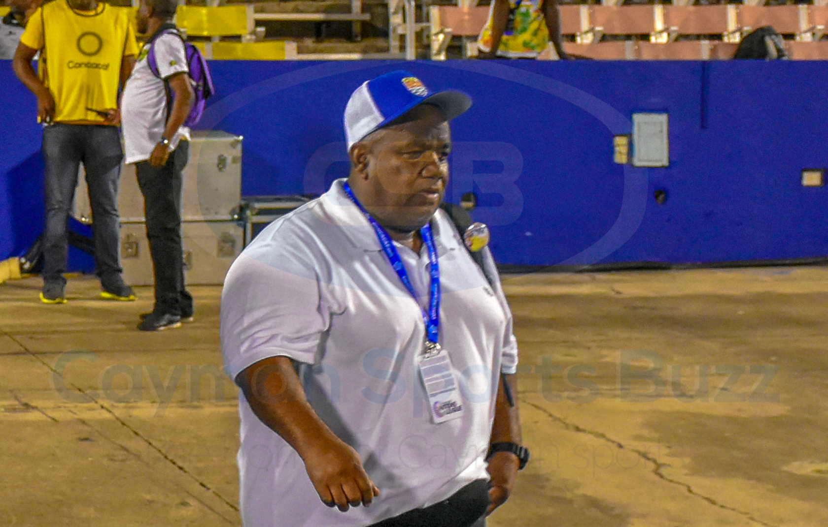 Cayman Islands national football team coach Elbert McLean
