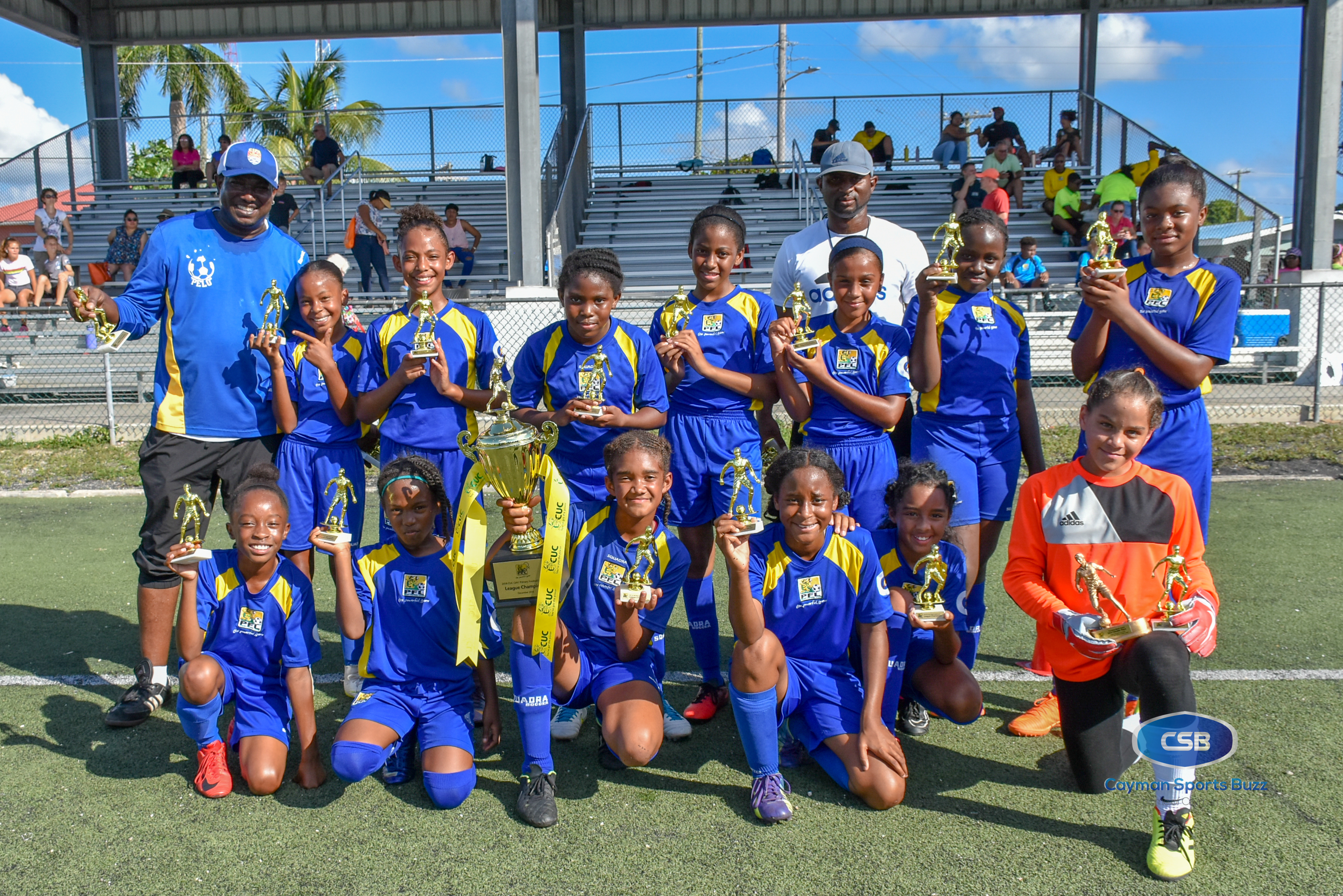2018 CUC GPFL U11 Champions - Savannah Primary School