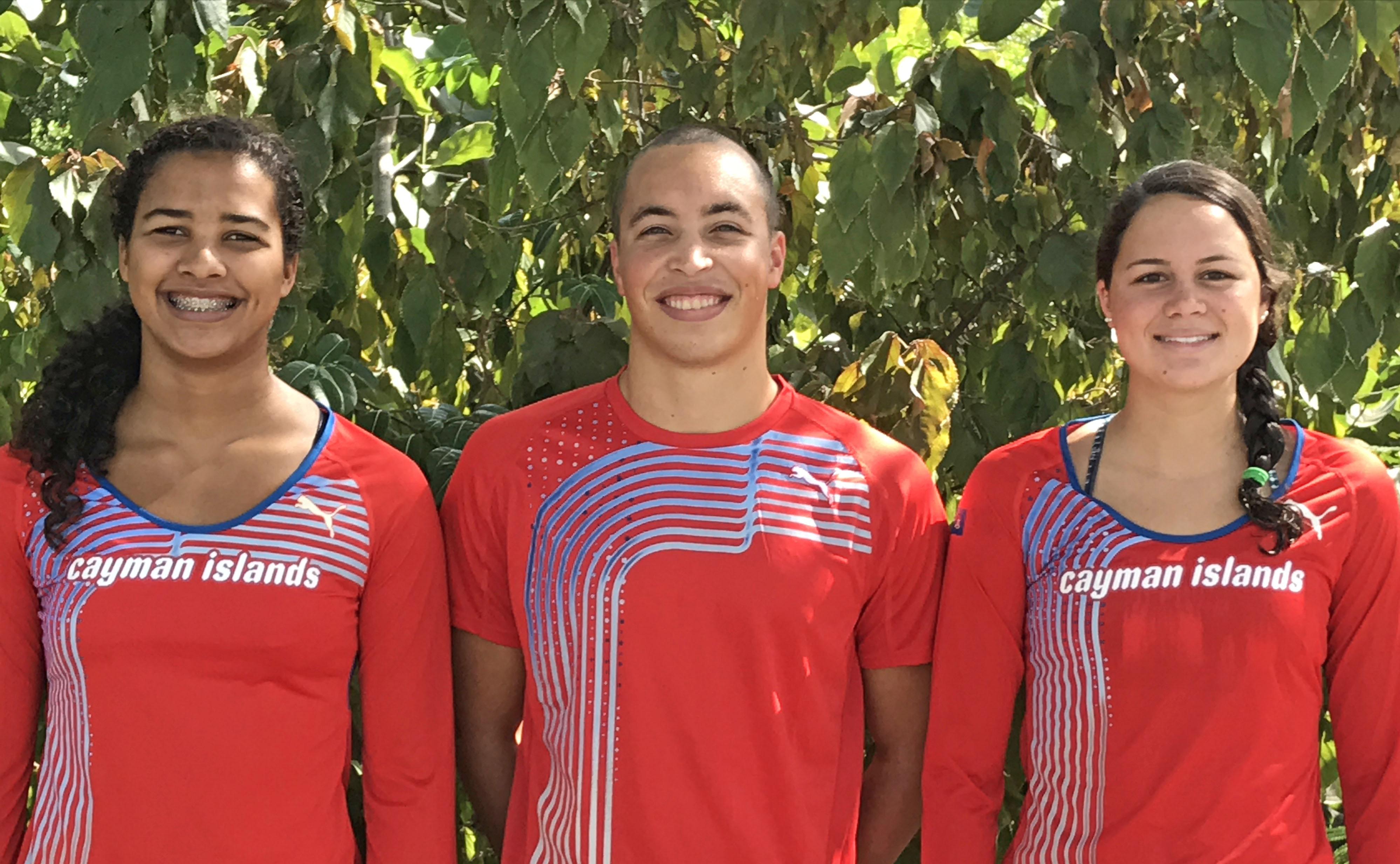 Cayman's World Championships trio