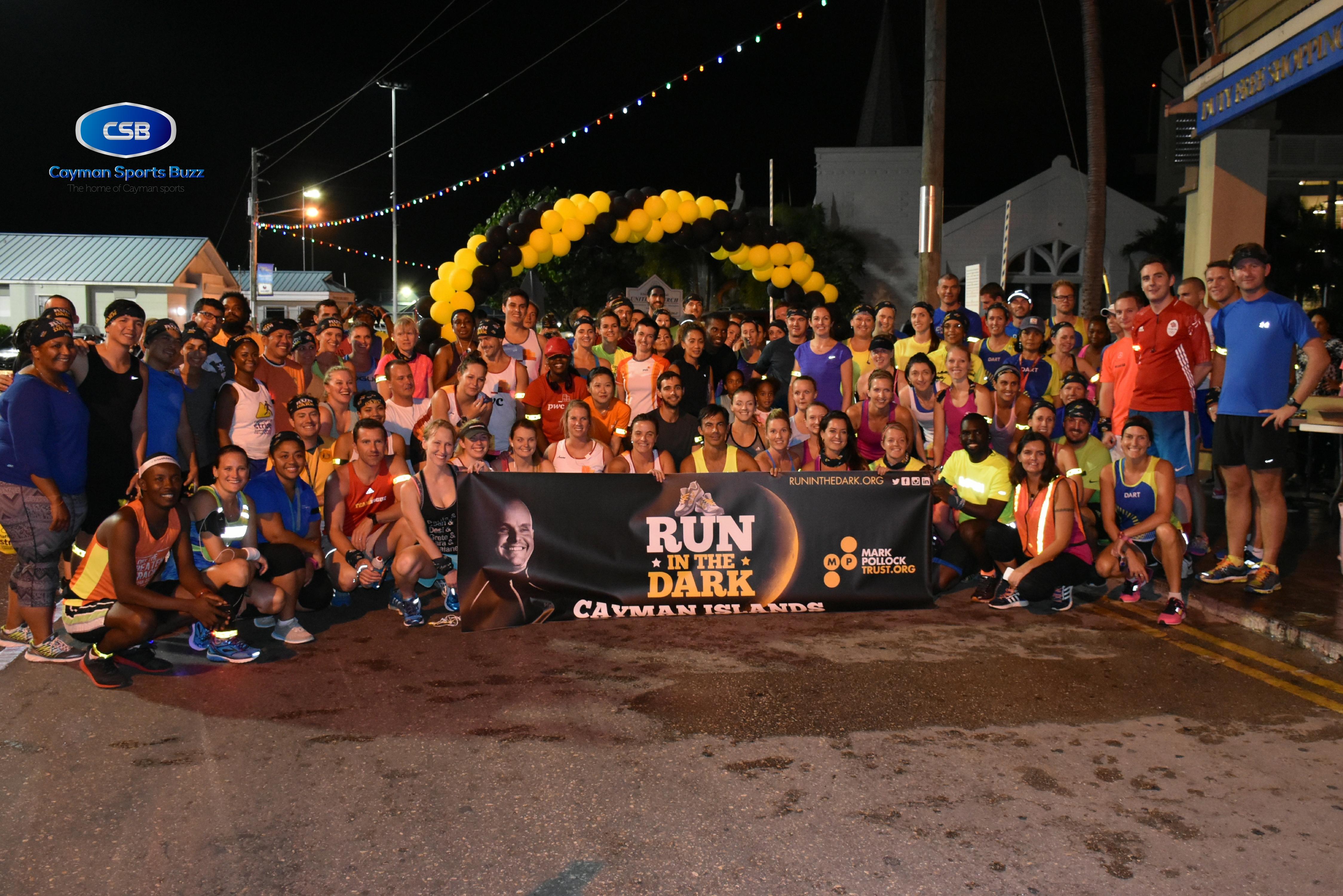 Cayman Islands Run in the Dark 2016.